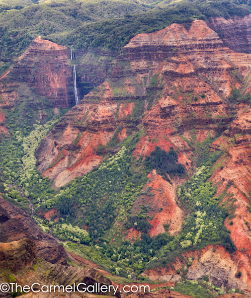 photo of waterfalls in Waimea Canyon