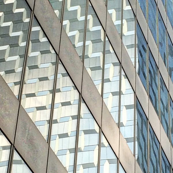 Kickass Building Reflection New York City. Richard London