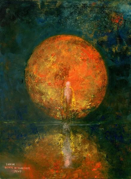 """Lunar"" by Denise Dahlheimer | Prophetics Gallery"
