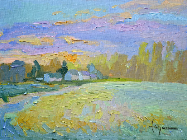 April Sunset Heart of the River Collection Dorothy Fagan