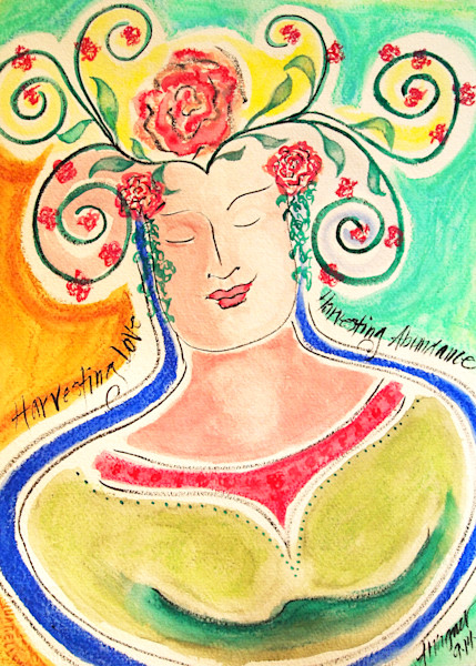 Mysterious Beings Greeting Cards by Annette Wagner