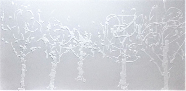 White on White Ⅰ by Briar Emond | SavvyArt Market original painting