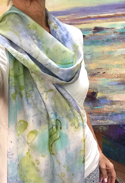 Lilac Inspiration Scarf Dorothy Fagan Collection