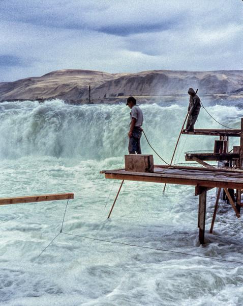 Celilo Falls 13 photograph by Richard Stefani –Stefani Fine Art