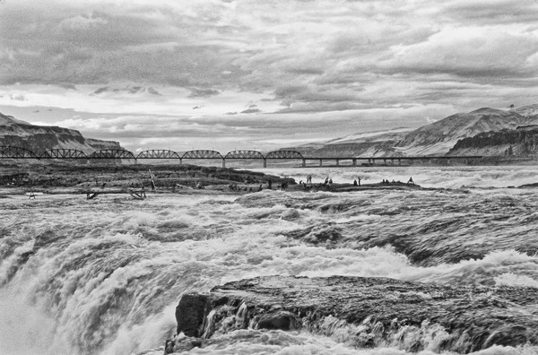 Celilo Falls Vista photograph by Richard Stefani –Stefani Fine Art