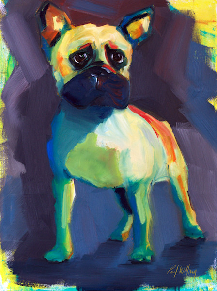 French Bulldog by paul william artist | Art for Sale