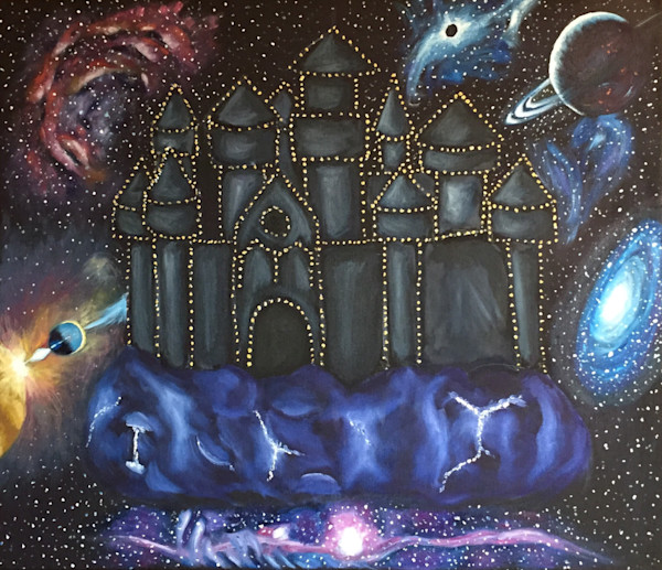 Galaxy themed Christian Art and Paintings for Sale.