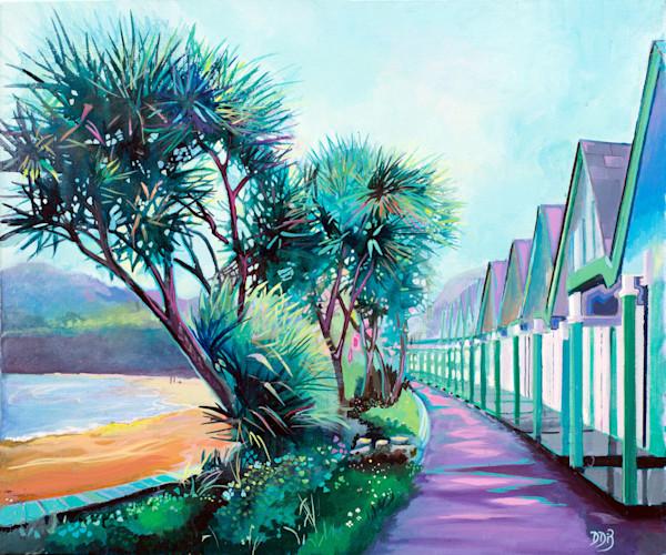 Langland Bay Fine Art Print- Denise Di Battista