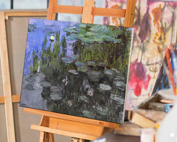 Gardens by Monet | You Paint the Masters