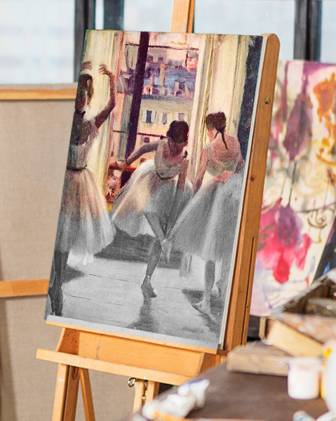 Three dancers by Degas | You Paint the Masters