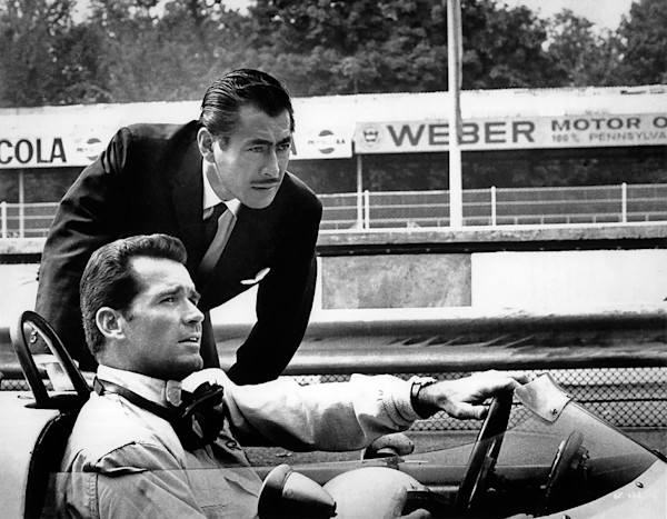 James Garner as Pete Aron in the 1966 movie Grand Prix