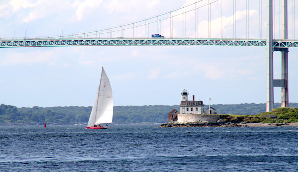 sailing in the sailing capital of the United States--Newport, RI