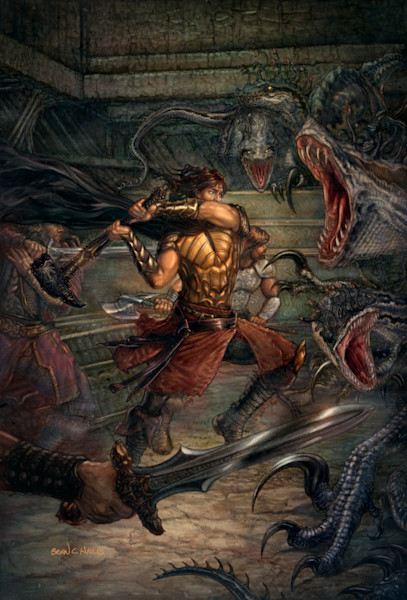 The Proving Ground Runelords fantasy art print