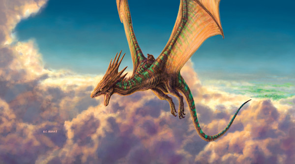 Naalin's Mount fantasy art print