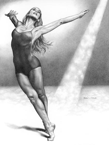 Spirit ballet art print Hailes