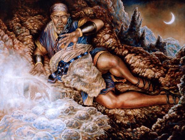 The Finger of God Book of Mormon art print