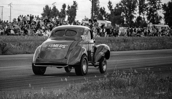 Jack Frost's Willy's Gasser 1965 historic photograph by Richard Stefani