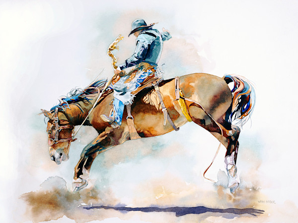 Romance Of Rodeo by Kathleen Harder