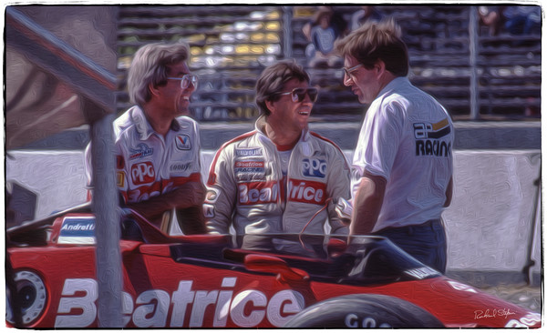 Mario Andretti Before the Race