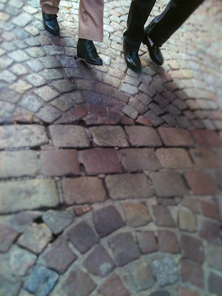 2 on the cobblestones