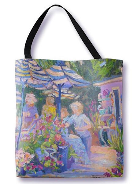Garden Party Tote Bag Dorothy Fagan Collection