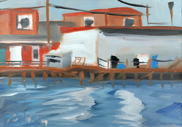 Cook's Lobster and Ale House painting by Paul William | Art for Sale