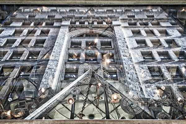 Fascinating Architectural Abstract Photo for Sale. Richard London