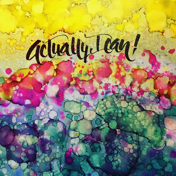 """Actually, I Can"" by Kellie Moeller 
