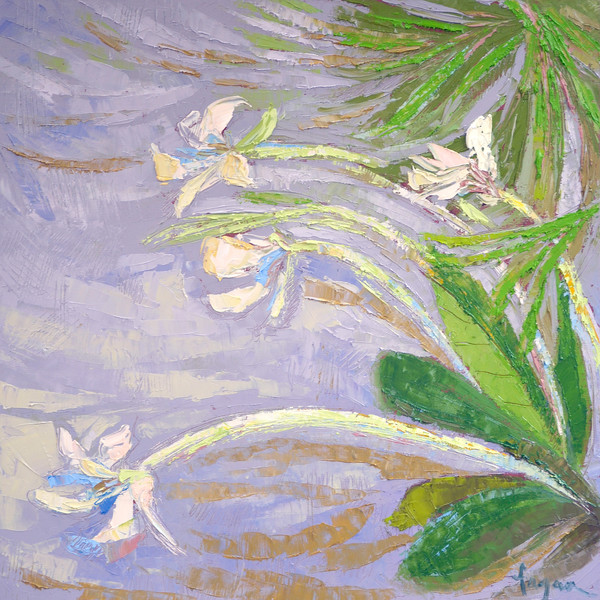 Orchids   Fine Art Print on Canvas or Paper   Dorothy Fagan Collection