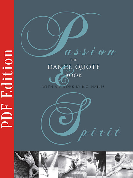 Passion & Spirit The Dance Quote Book [PDF Download]
