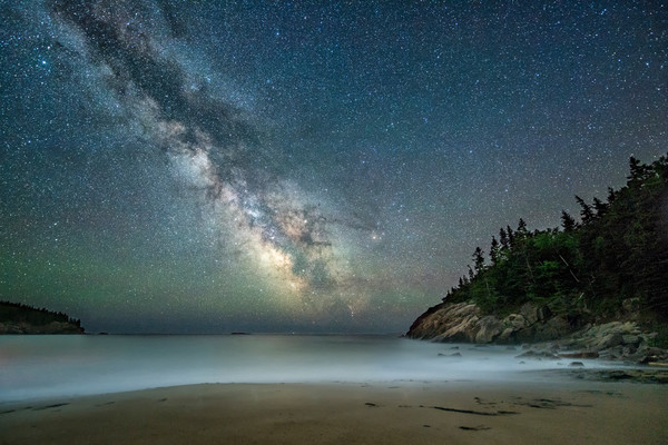 Milky Way at Sand Beach 2