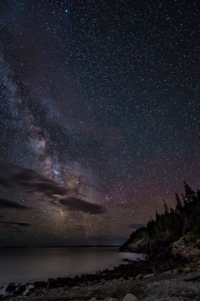 The Milky Way from Hunter's Beach 2