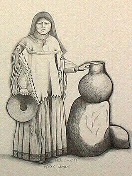 Apache Man and Woman