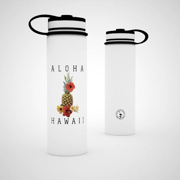 Printed Lifestyle Flasks | Pineapple Hibiscus