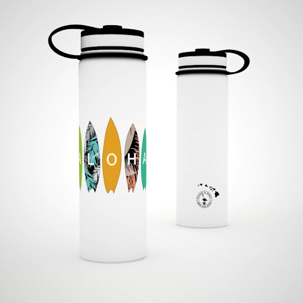 Printed Lifestyle Flasks | Aloha Surfboards