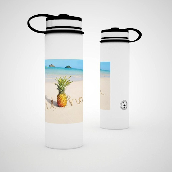 Printed Lifestyle Flasks | Pineapple Beach