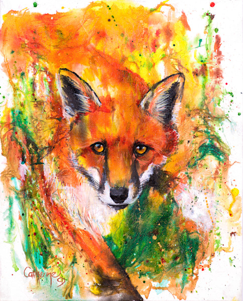 Ink Series Fox II - Original