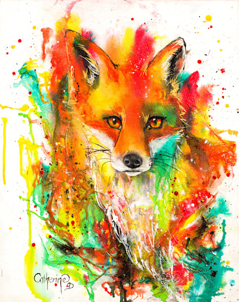 Ink Series -Fox I - Original
