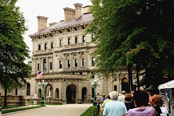 """The Breakers"" mansion in Newport, RI"