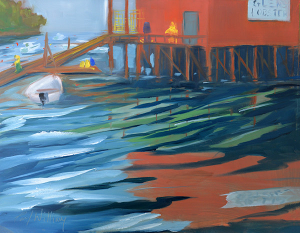Glen's Lobster Mackerel Cove painting by Paul William | Art for Sale