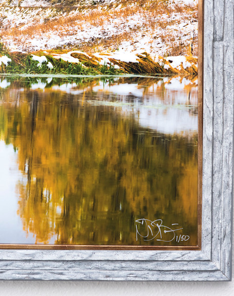 Kebler Pass Framed Signature Collection Print