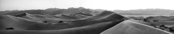 Blowing Sand Dunes –Death Valley photograph by Richard Stefani