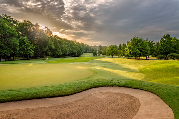 Early Morning on East Lake Golf Club's 12th Hole