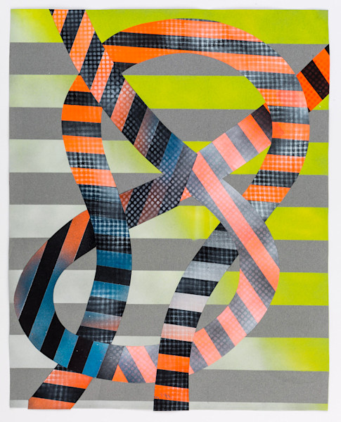 Shop for original prints like Knot Series 1, by Marianne Fairbanks at Matt McLeod Fine Art Gallery.