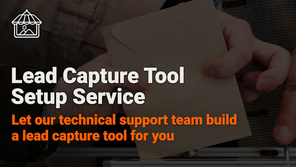 Lead Capture Tool Setup Service