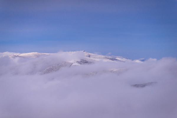 Blue Ridge Mountain Winter Hike Photograph for Sale as Fine Art