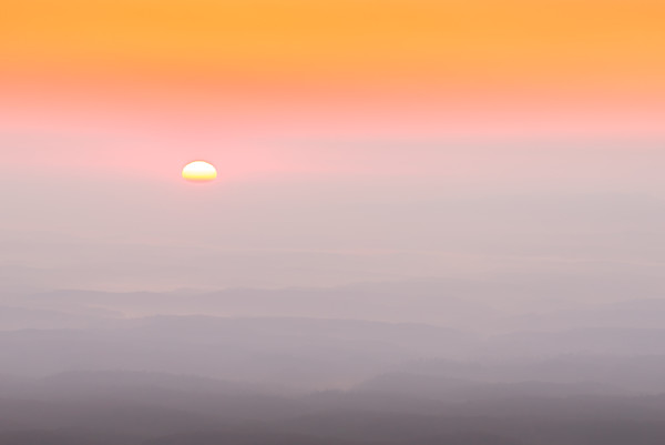 Linville Gorge Sunrise Photograph for Sale as Fine Art