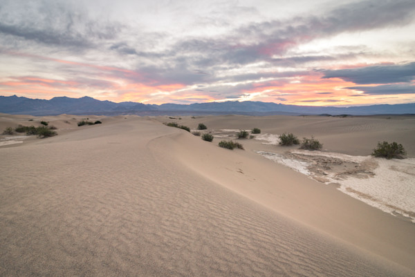 Death Valley Sand Dunes Photograph for Sale as Fine Art