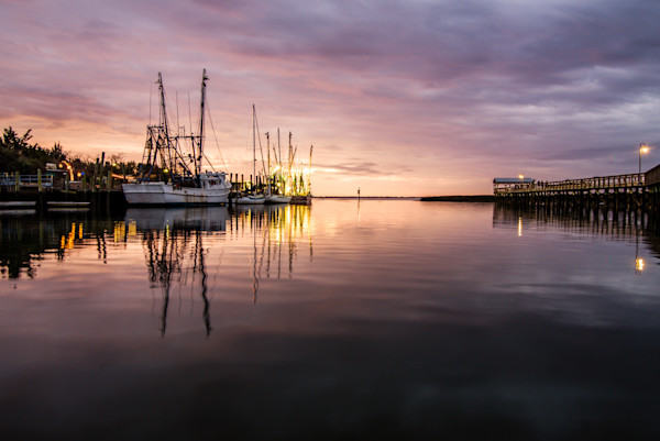 Shem Creek Sunset Photograph for Sale as Fine Art