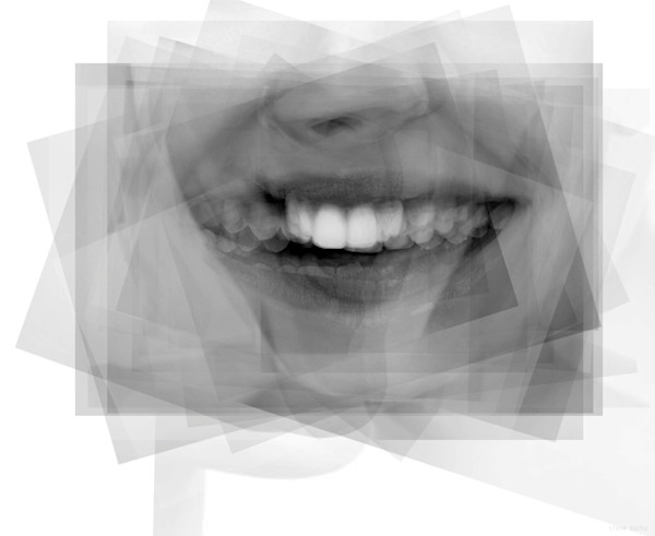 Overlay art – contemporary fine art prints of a smile